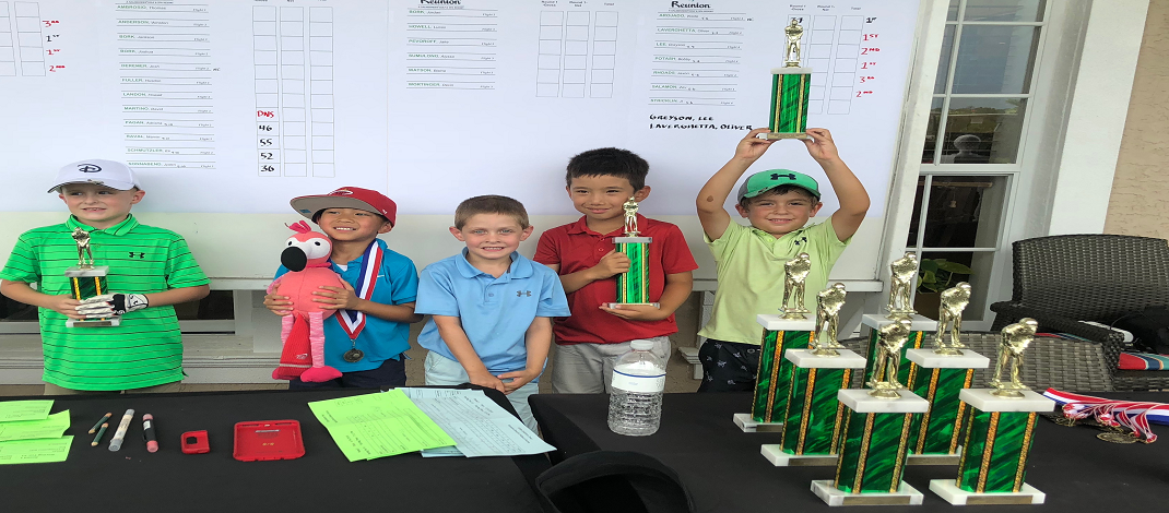 Zev Earns 2nd Place at Reunion, June 2018