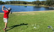 Zev Gets Back Into Golf